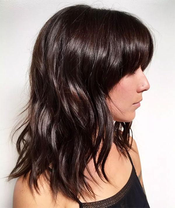 Brown Medium Haircuts