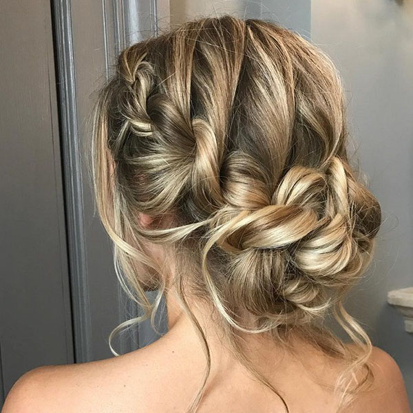 Cocktail Prom Hairstyles For Medium Hair