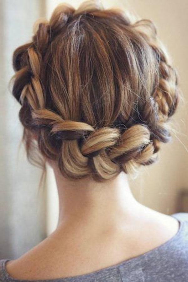 2021 Cute Braided Hairstyles For Medium Hair