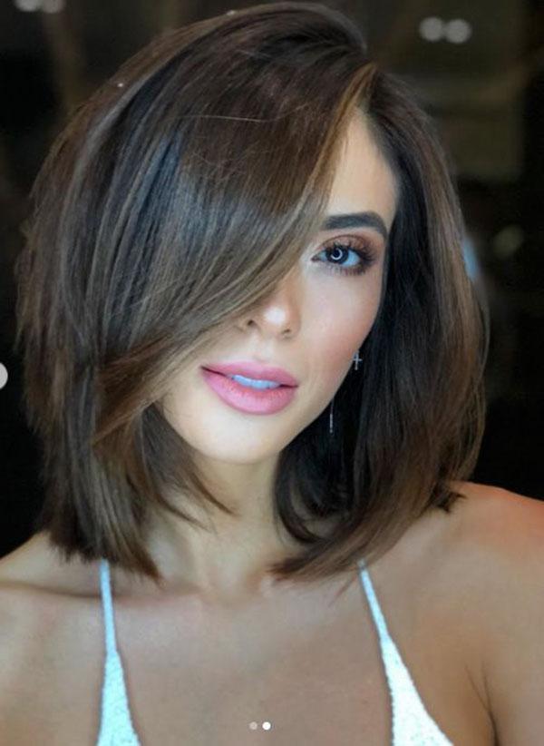Cute Medium Hairstyles For Straight Hair