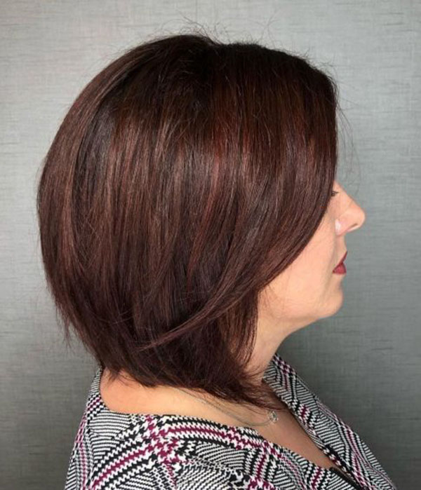 Medium Haircuts For Over 40