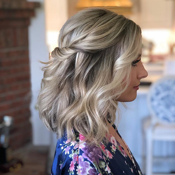 Step By Step Prom Hairstyles For Medium Hair