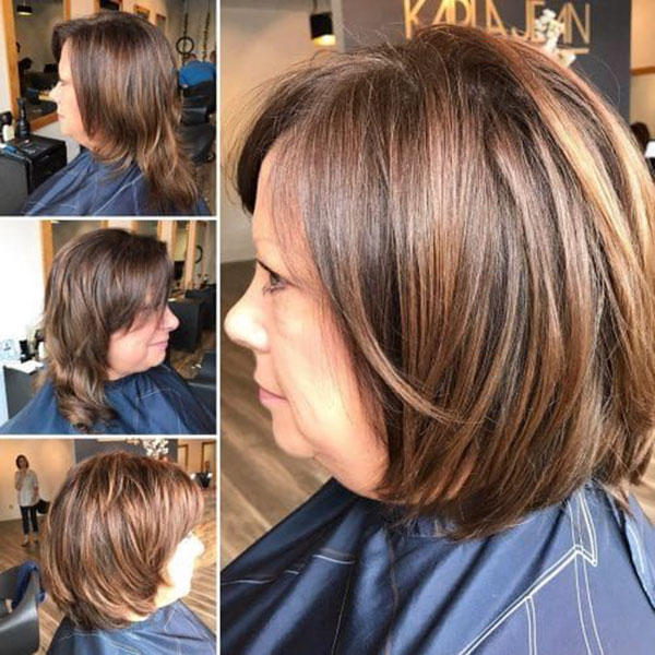 Medium Hairstyles For Women Over 40 2021